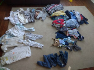 Baby boy clothes 0 - 12 months