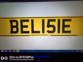Private Number Plate for BELISLE.
