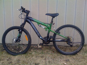 Kranked Factor 24 Youth Full-Suspension Bike