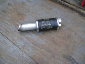***EXHAUST CAN TO FIT REV CHASSIS 500SS/ 600 WITH TWIN PIPES***
