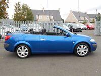 2008 58 Reg Renault Megane 1.6 VVT Dynamique Convertible, Petrol, Manual, Metallic Blue