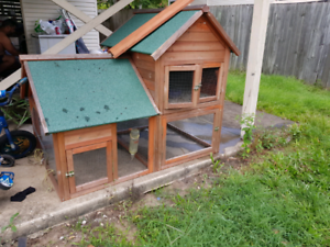 Two story guinea pig Hut