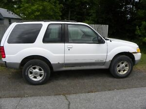 2001 Ford Explorer Sport SUV with valid E-test