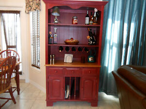 Hutch and China Cabinet,  350 Jam/Jelly Cabinet. 250