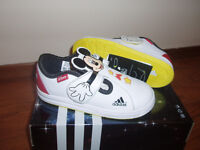 For sale kids Adidas -Mickey Mouse- size 8 (toddler). Brand New