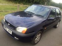 quick sale ford fiesta 2002 year alloy wheels power stering bargain £200 great engine and gear box