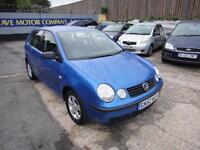 2002 Volkswagen Polo 1.4 S 5dr (a/c)