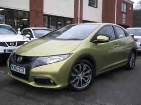 2012 12-Reg Honda Civic 2.2i-DTEC ES-T,NEW MODEL,£20 TAX,SAT NAV,LOOK!!!