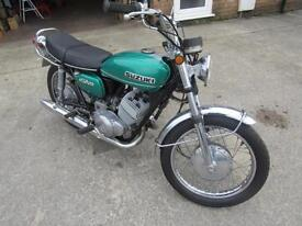 1971/72 SUZUKI T250 NEEDS FINISHING FRAME NO 43427