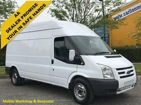 2009/ 59 Ford Transit 115 T350L Hi/Roof [ Mobile Workshop&110v Generator ] Van