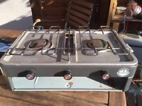 Camping stove with grill Adventurage sunnflair