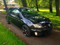 "VOLKSWAGEN GOLF 2.0TSI GTI 3 DOOR 2011 ""61"" REG 92,000 MILES BLACK METALLIC"