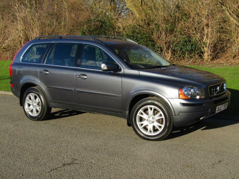 2007 57 volvo xc90 2 4 d5 se geartronic auto 7 seater 4x4. Black Bedroom Furniture Sets. Home Design Ideas