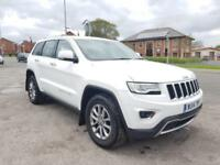14 2014 Jeep Grand Cherokee 3.0CRD ( 247bhp ) 4X4 Auto 2014MY Limited Plus