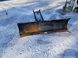 Quad Plow for Yamaha 550 and 700 Grizzly 54 inch Warn Snow