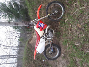 Cr 250 bore over with lots of upgrade trade for a banshee