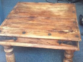 Tables .ottoman, mirror for sale