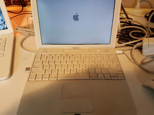 Apple ibook G4 laptop 12-inch 1.5gb ram 120 hdd 1.5 ghz