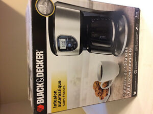 Black & Decker-coffee maker