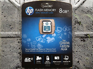 HP Q6276A-EF 8 GB Class 4 SDHC Flash Memory Card