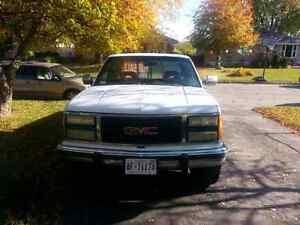 1992 GMC full size truck with 454