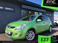 2010 60 Hyundai i20 1.4 Style **Apple Green - Low Mileage - 1 Previous Owner**