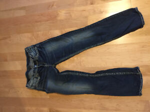 Silver Jeans Size 30 mint condition