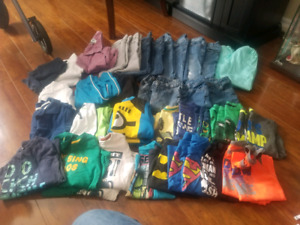 Twins boys matching clothes size 4 and 5