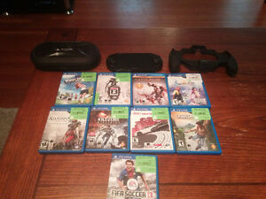 PlayStation Vita with 10 games and accessories. Comox / Courtenay / Cumberland Comox Valley Area image 1
