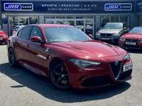 2017 Alfa Romeo Giulia V6 BITURBO QUADRIFOGLIO USED Auto Saloon Petrol Automatic
