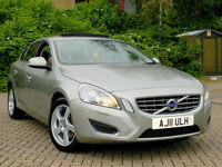 2011 11 VOLVO S60 2.4 D5 SE LUX 215 GEARTRONIC WITH TAN LEATHER+SUNROOF+SATNAV++
