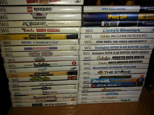 Nintendo Wii Game Lot