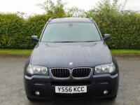 2006 56 BMW X3 2.0 D M SPORT 5D 148 BHP DIESEL