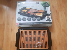 New in box smokeless indoor grill