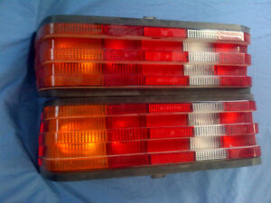 Mercedes 190E taillights, headlights, mirrors, grill,