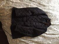 Men's Barbour quilted jacket.