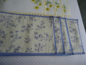 place mats for dining   area  or kitchen