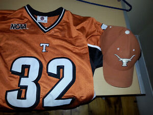 Texas Longhorns Jersey #32 and matching fullback hat