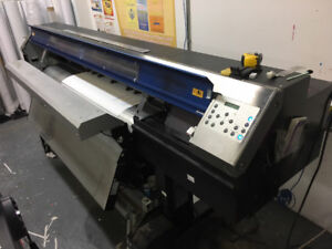 Roland XC-540 printer cutter with take up , blower and external
