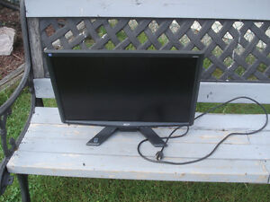 Flat Screen Monitor Acer