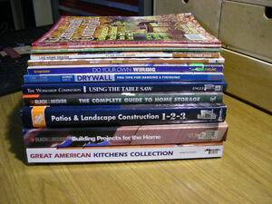 Home Improvement Books (Collection)
