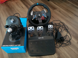 LOGITECH G29 Steering Wheel with Pedals and Shifter PS4