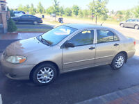2004 Toyota Corolla with Wintertires & Remote starter $4200