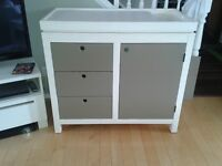 "WEST COAST KIDS SOLID WOOD  CHANGE DRESSER ""MADE IN USA"" $425"
