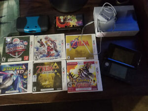 Nintendo 3DS Black NM with 6 games