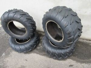 2 25 X 10 12 TIRES IN GOOD SHAPE $50.00