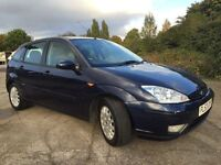 Ford Focus 1.8 petrol Ghia new mot cheap family hatcback695