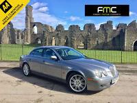 2007 Jaguar S-TYPE 2.7D V6 auto SE **SAT NAV HEATED LEATHER**