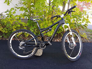 2013 Specialized Stumpjumper FSR EVO Carbon Small Mountain Bike