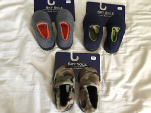 New! Toddler machine washable slippers size 5/6 or 7/8